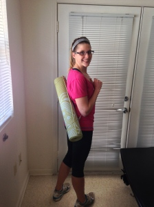Going to Yoga
