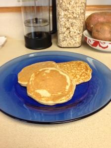 Egg White Oatmeal Pancakes