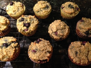 Blueberry Chia Seed Muffins